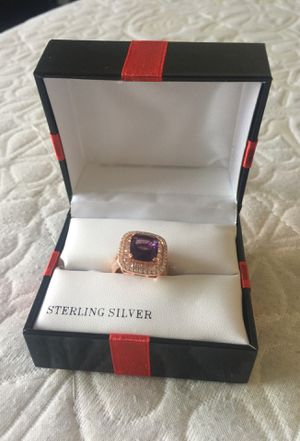 Birthstone and Diamond Ring for Sale in McLean, VA