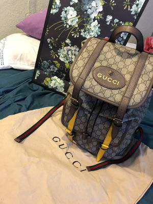 105af026b9d Authentic Gucci GG Supreme Backpack.  2018  for Sale in undefined