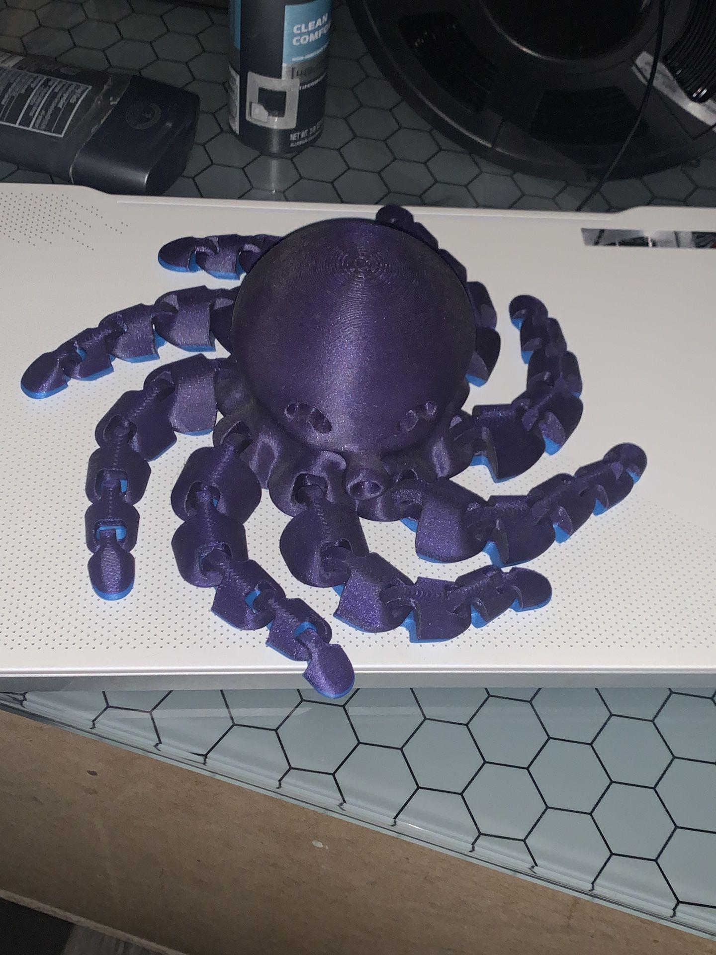 Flexi Octopus 3D print
