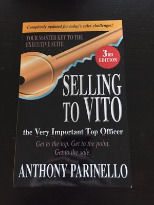 Selling to Vito Book for Sale in Pittsburgh, PA