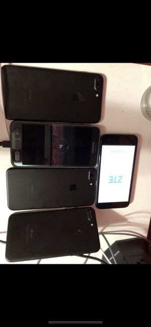 Icloud locked phones and broken phones for Sale in Silver Spring, MD