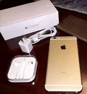 IPhone6 +  Factory Unlocked + box and accessories + 30 day warranty for Sale in Silver Spring, MD