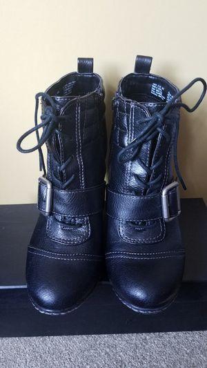 Ankle boots black for Sale in Manassas, VA