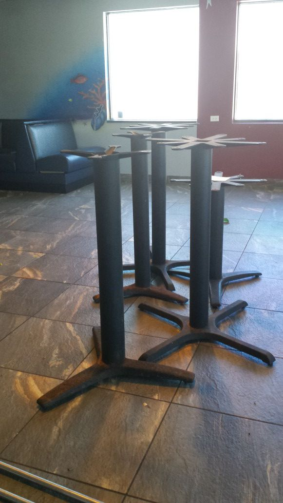 Restaurant Quality Commercial Table Bases For Sale In Tampa FL - Restaurant table bases for sale