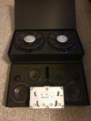Original BMW Hi-Fi Speakers, Subs, and Amp. 06-14 3 & 4 series for Sale in Fairfax, VA