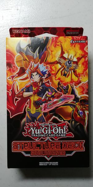 yugioh vrains structure deck soulburner salamangreat (New in box) ash  blossom for Sale in Murphy, TX - OfferUp