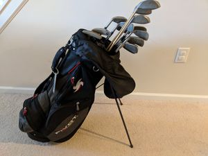 Golf clubs set with great golf bag for Sale in MONTGOMRY VLG, MD