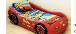 Twin size lightning McQueen bed for Sale in Adelphi, MD