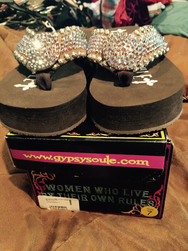 6350ec0711006 Authentic Gypsy Soule Flip Flops for Sale in Pleasanton
