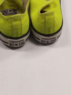 Lime green Converse sz 9 Thumbnail