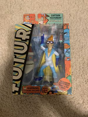 Futurama Captain Yesterday action figure for Sale in Pearland, TX