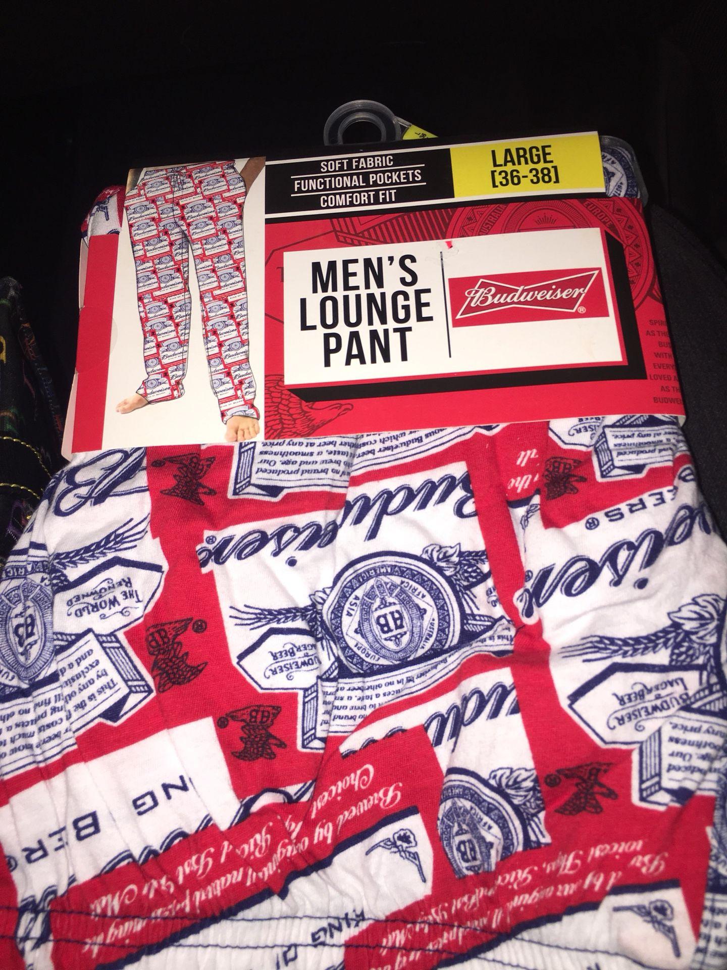 Budweiser sleep pants brand new! 10.00 price is firm!!!! Puo Fontana size L -***
