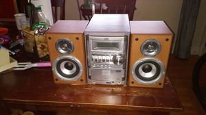 JVC compact component system for Sale in Salt Lake City, UT