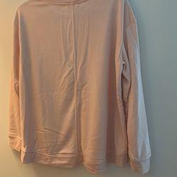 NWT Light Pink Sweatshirt Thumbnail