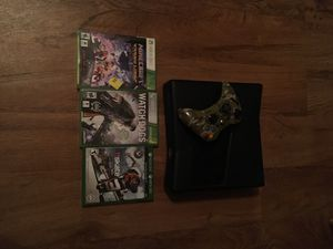 Xbox 360 cords controller and games works great for sale  Fayetteville, AR