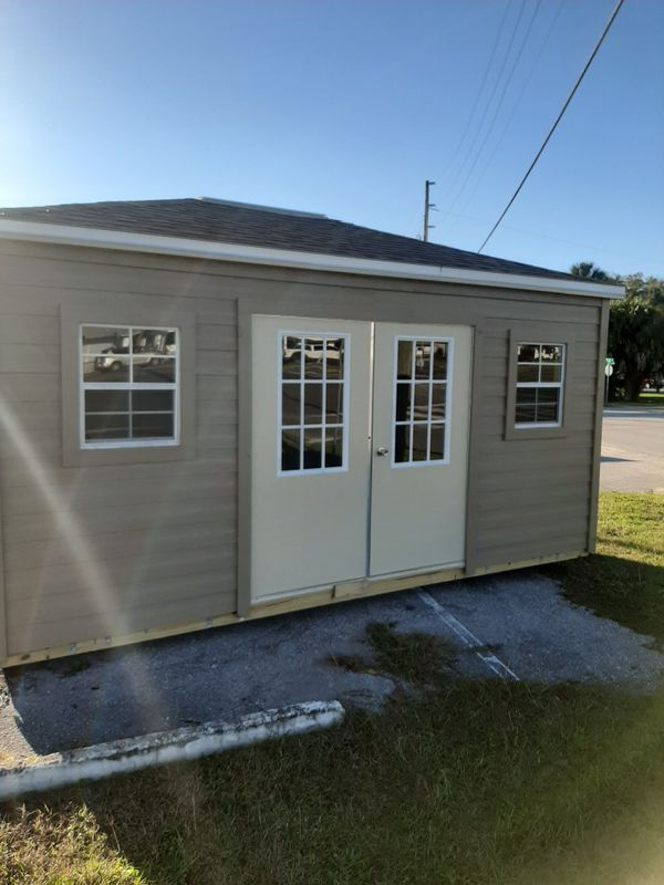 Storage Shed 12x16 Cabana Shingle Roof Edition For Sale In