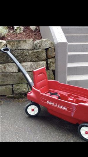 Photo RADIO FLYER WAGON FOR TWO SEAT