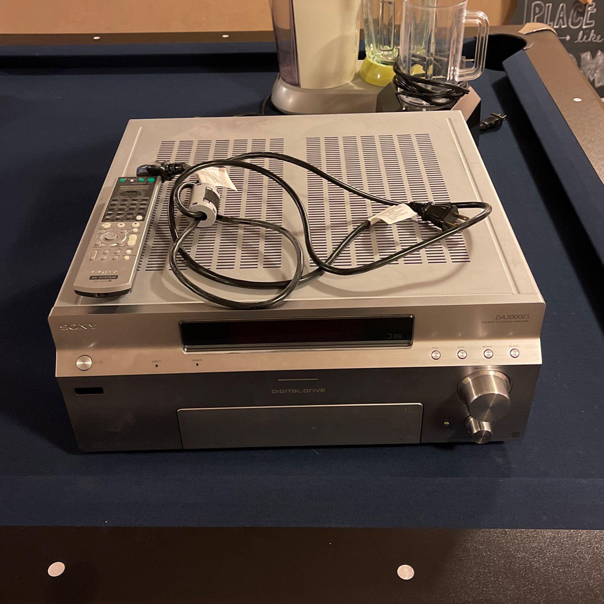 Sony DA3000ES Surround Sound Receiver 7.1