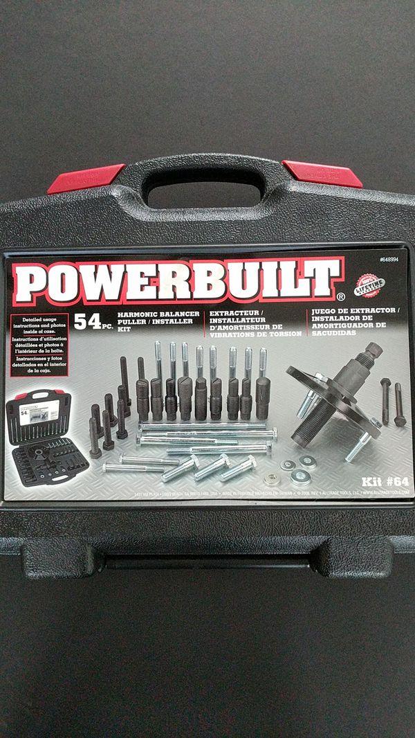 Powerbuilt Harmonic Balancer Puller Installer Kit 64 For Sale In