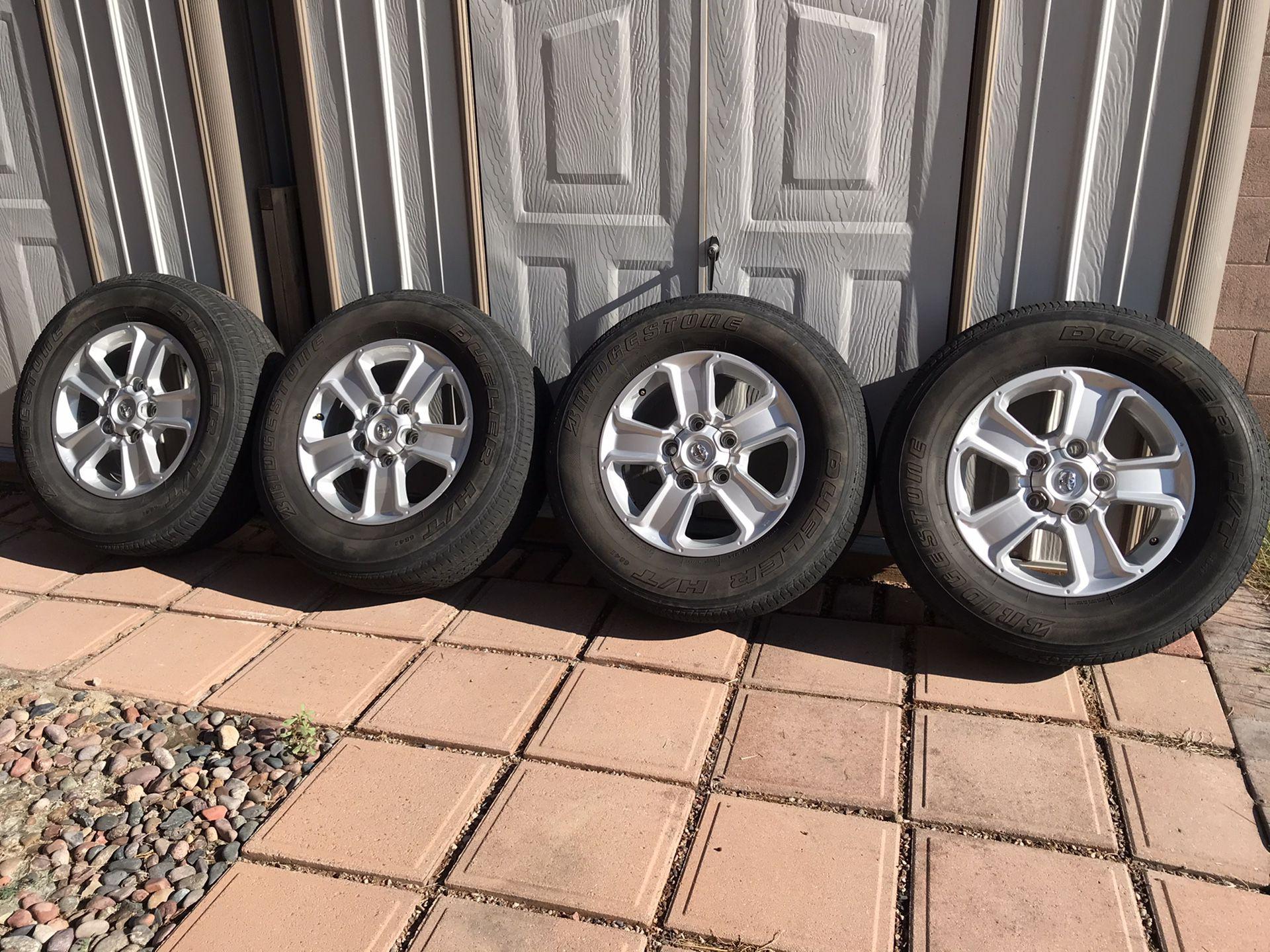Toyota Tundra Wheels 275/65R18