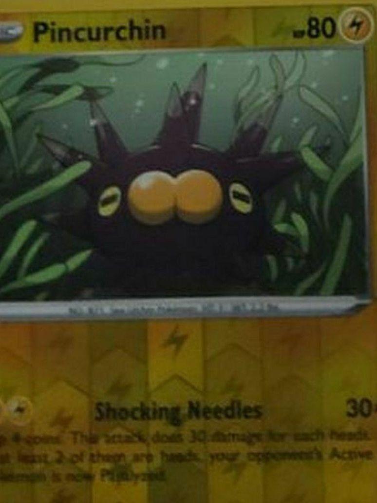 Pincurchin Pokemon Card