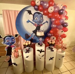 Vampirina party set up Thumbnail