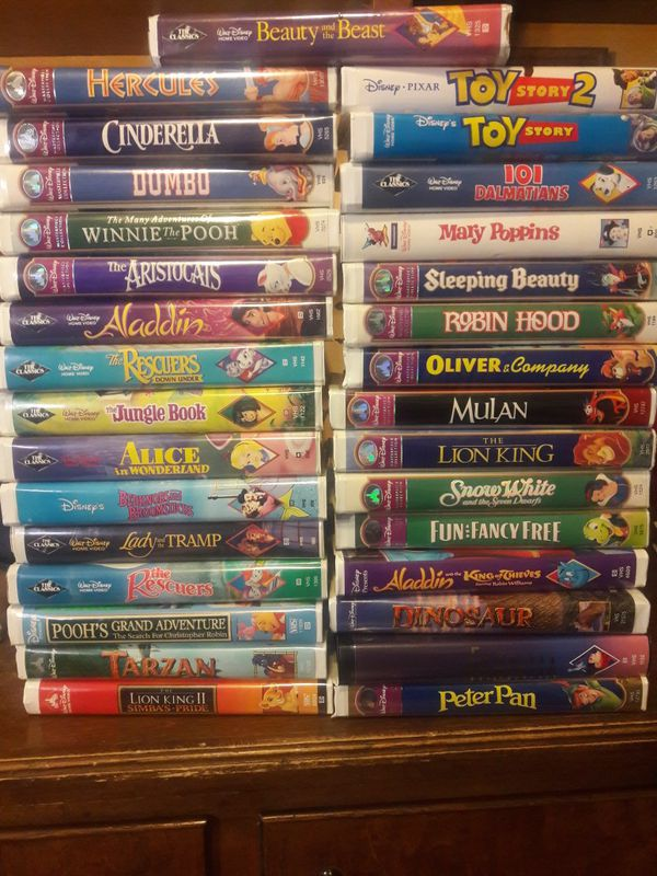 Disney Vhs Collection For Sale In Albuquerque Nm Offerup