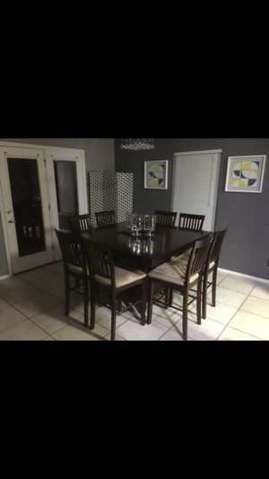 Counter Height 8 Person Dining Room Table For In Albuquerque Nm