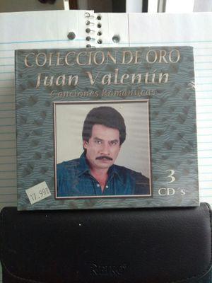 JUAN VALENTIN CANCIONES ROMANTICAS 3 CD PACK for Sale in Chicago, IL