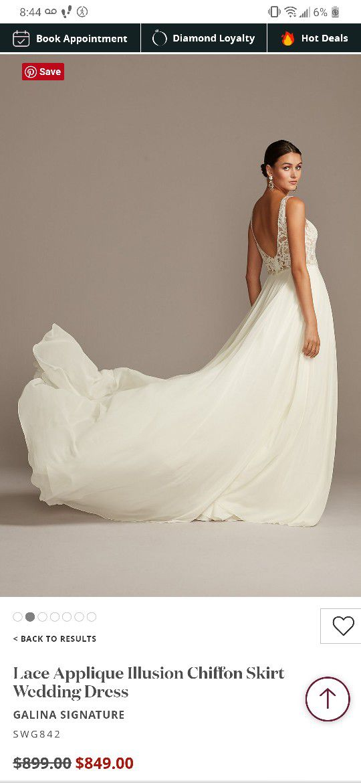 Brand new Wedding dress Size 14 Ivory