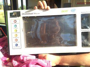 Acer Chromebook 14 bundle!!!! for Sale in Salt Lake City, UT