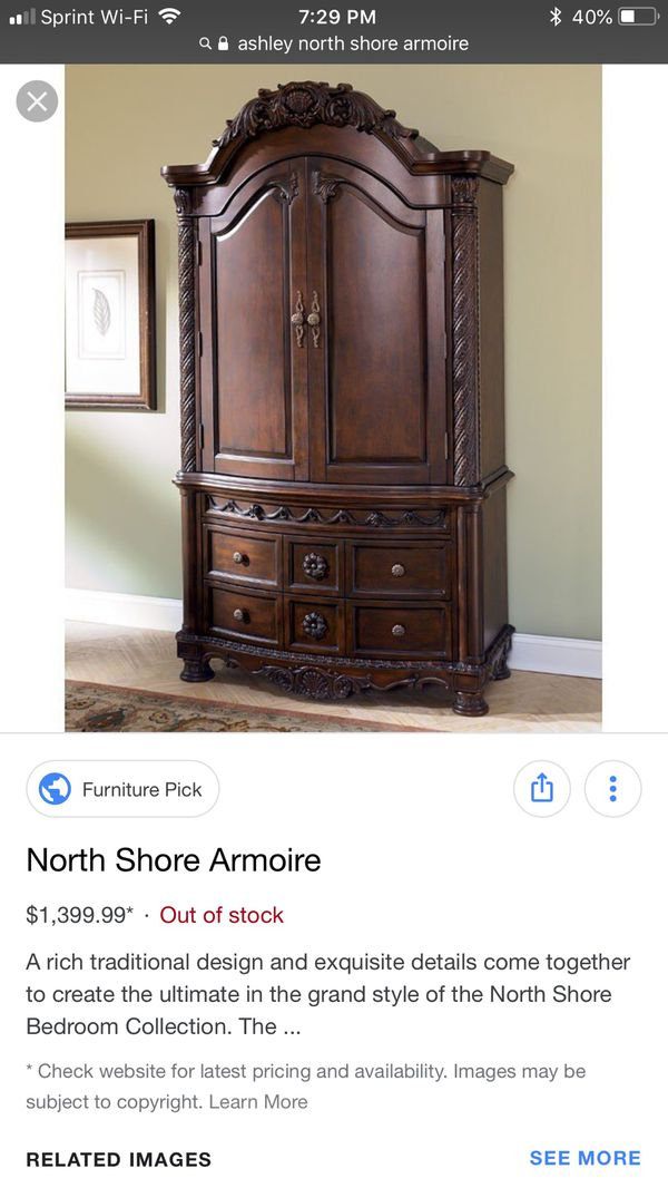 Ashley North Shore Armoire For Sale In Indialantic Fl Offerup
