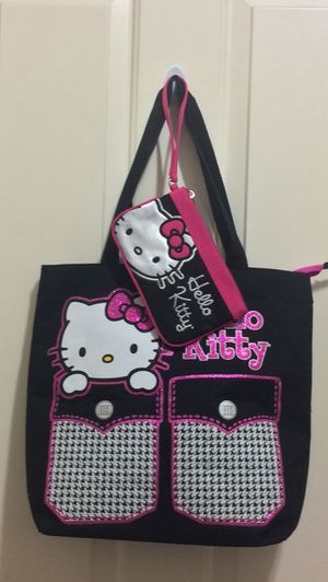 Hello Kitty Set Huge Tote Bag And Wristlet For Sale In Mill Creek WA