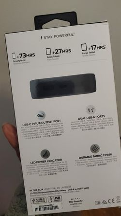 MOPHIE XXL PORTABLE CHARGER Thumbnail