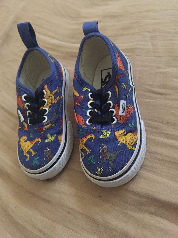 14327a42863e Toddler Dinosaur Vans for Sale in Santa Ana