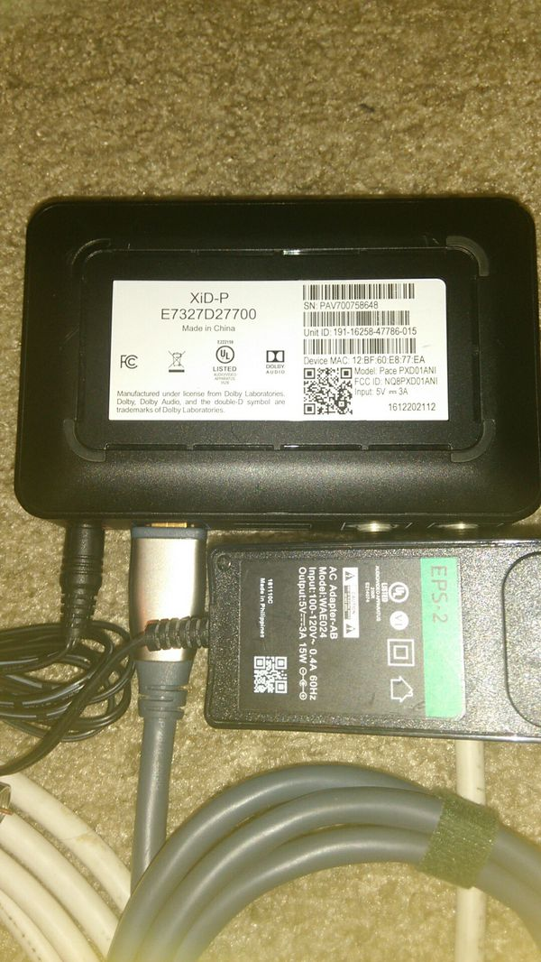 Cox Contour Mini Hd Xid P Cable Box For Sale In Scottsdale Az Offerup
