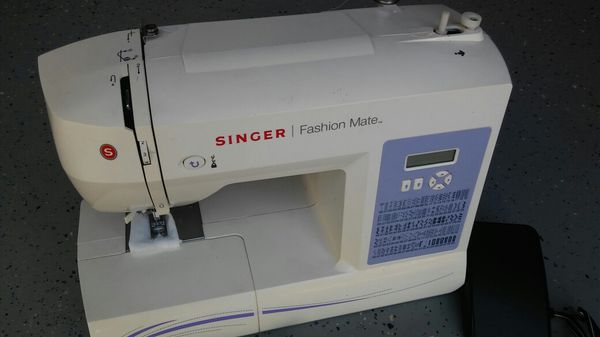SINGER FASHION MATE MODEL40 SERIAL NOH40 For Sale Amazing Singer Fashion Mate Sewing Machine 5500
