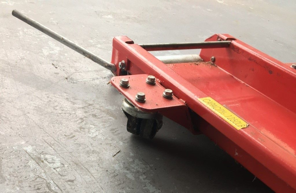 Motorcycle Low profile floor rolling dolly