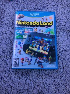 Nintendo land Wii U for Sale in Riverside, CA