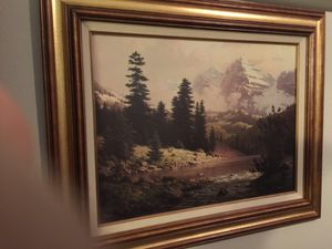 Oil painting beautiful national park landscape for Sale in Austin, TX