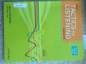 Tactics for Listening third edition (basic) for Sale in San Francisco, CA