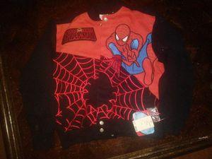 Marvel Comic Spider Man Junior Jacket for Sale in Tampa, FL