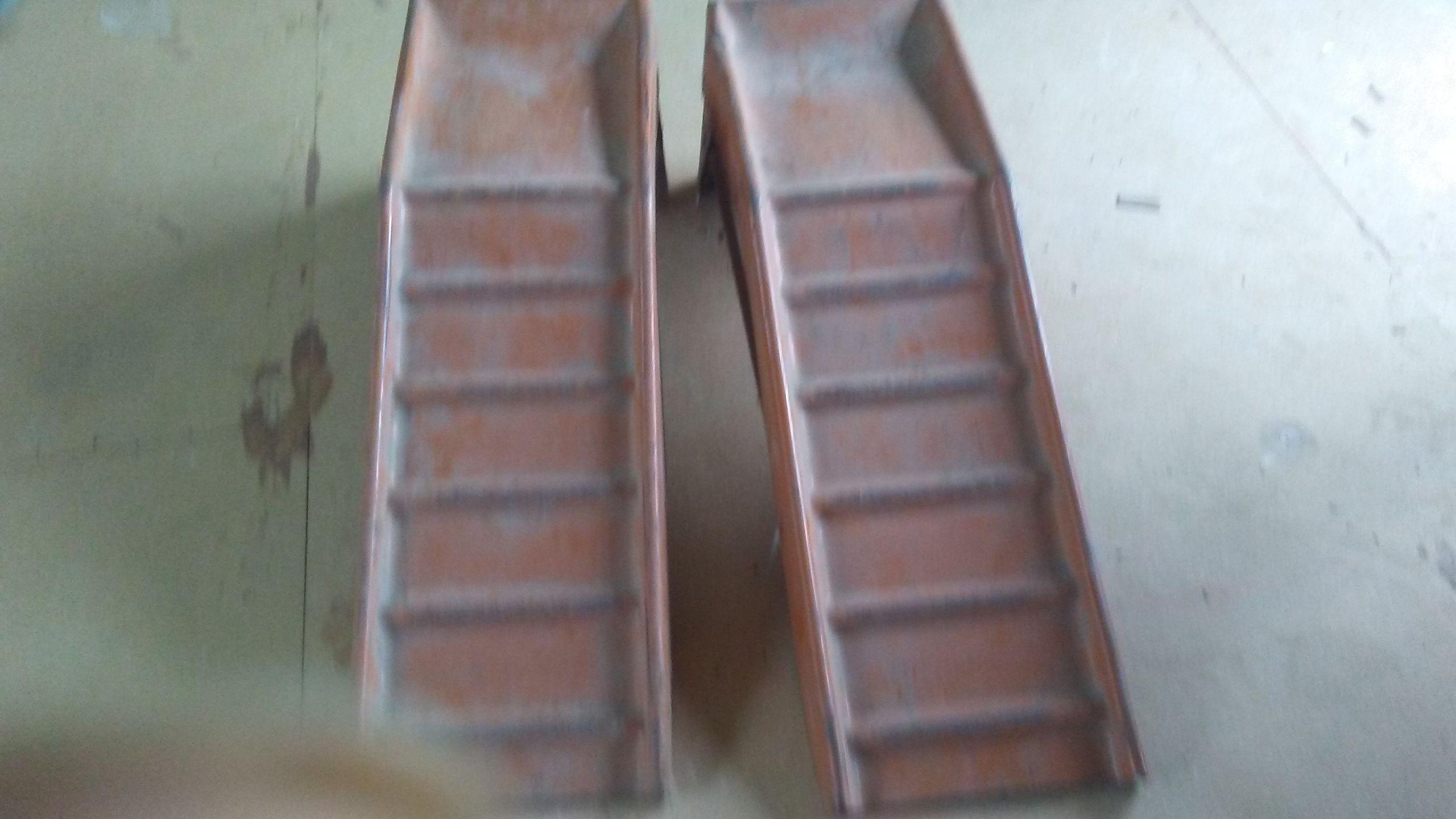 Metal ramp set