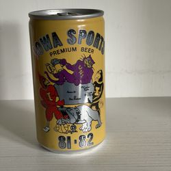 Iowa Sports Collectible (Empty) Can  Thumbnail