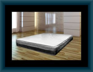 Singlesided pillowtop mattress with box spring for Sale in Washington, DC