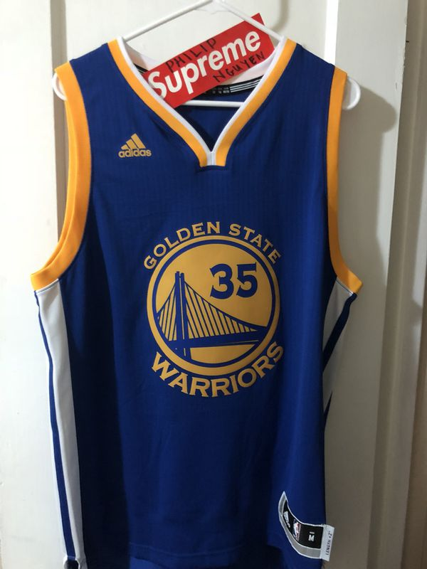 newest d2740 a9cfa Men's adidas Golden State Warriors Kevin Durant #35 Swingman Jersey Away  Blue size Medium for Sale in San Leandro, CA - OfferUp