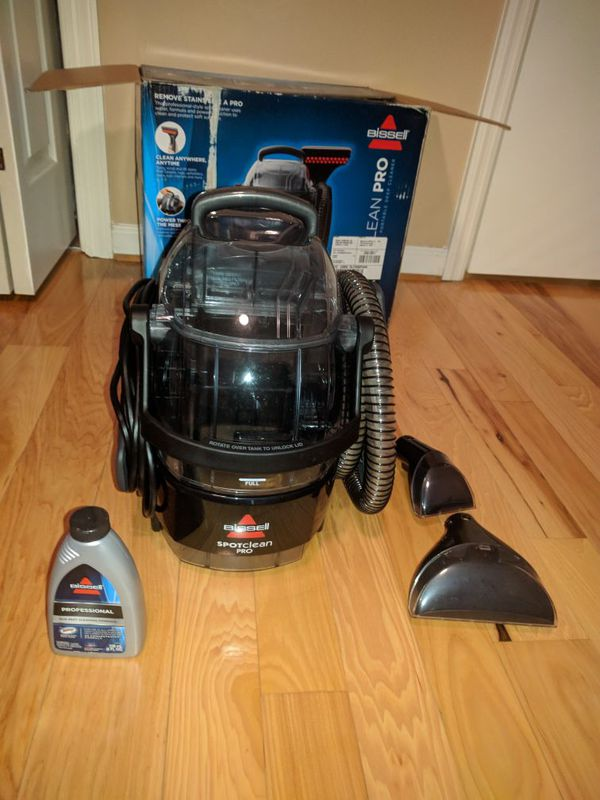 Used BISSELL SpotClean Pro Portable Upholstery and Carpet Cleaner. Aiken, SC