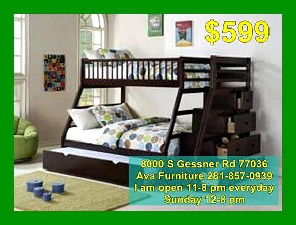 bunk bed frame $599