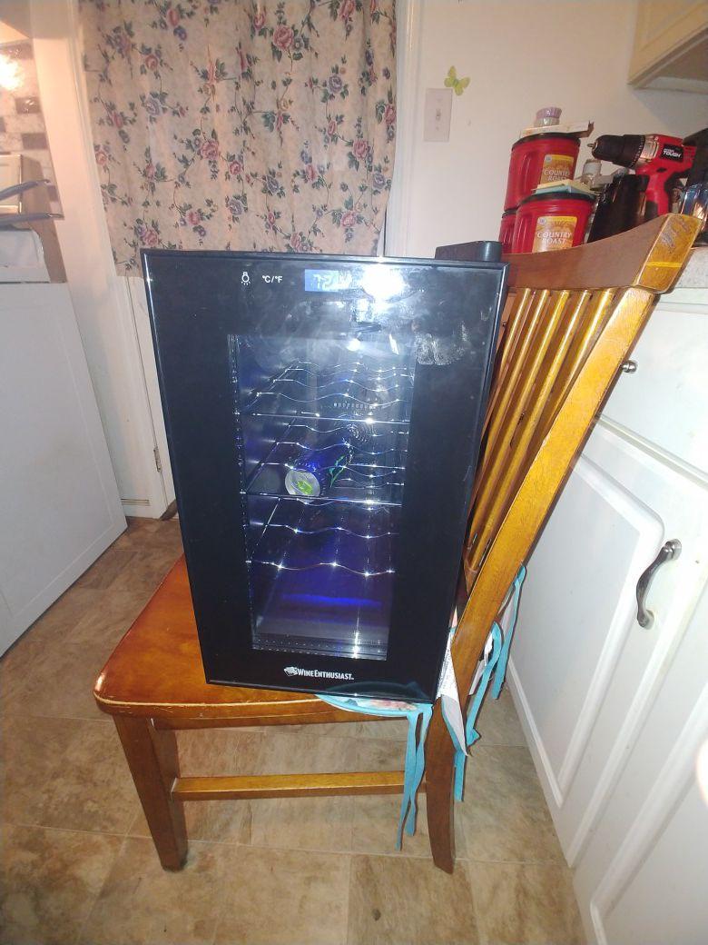 Wine fridge of beverage fridge