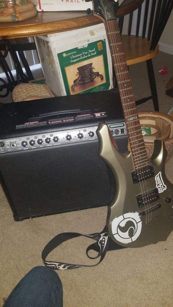 Line 6 Spider 3 amp with ESP Ltd guitar for Sale in Ridgeland, SC - OfferUp